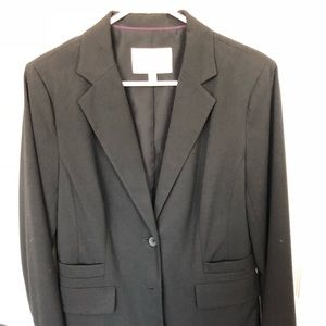 Banana Republic black blazer size 10